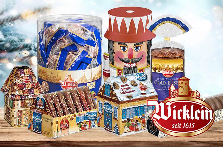 Traditioneller Lebkuchen von Wicklein
