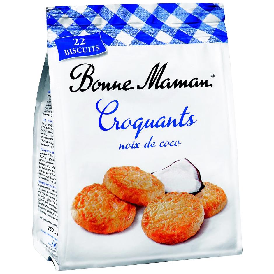 Bonne Maman Croquants noix de coco