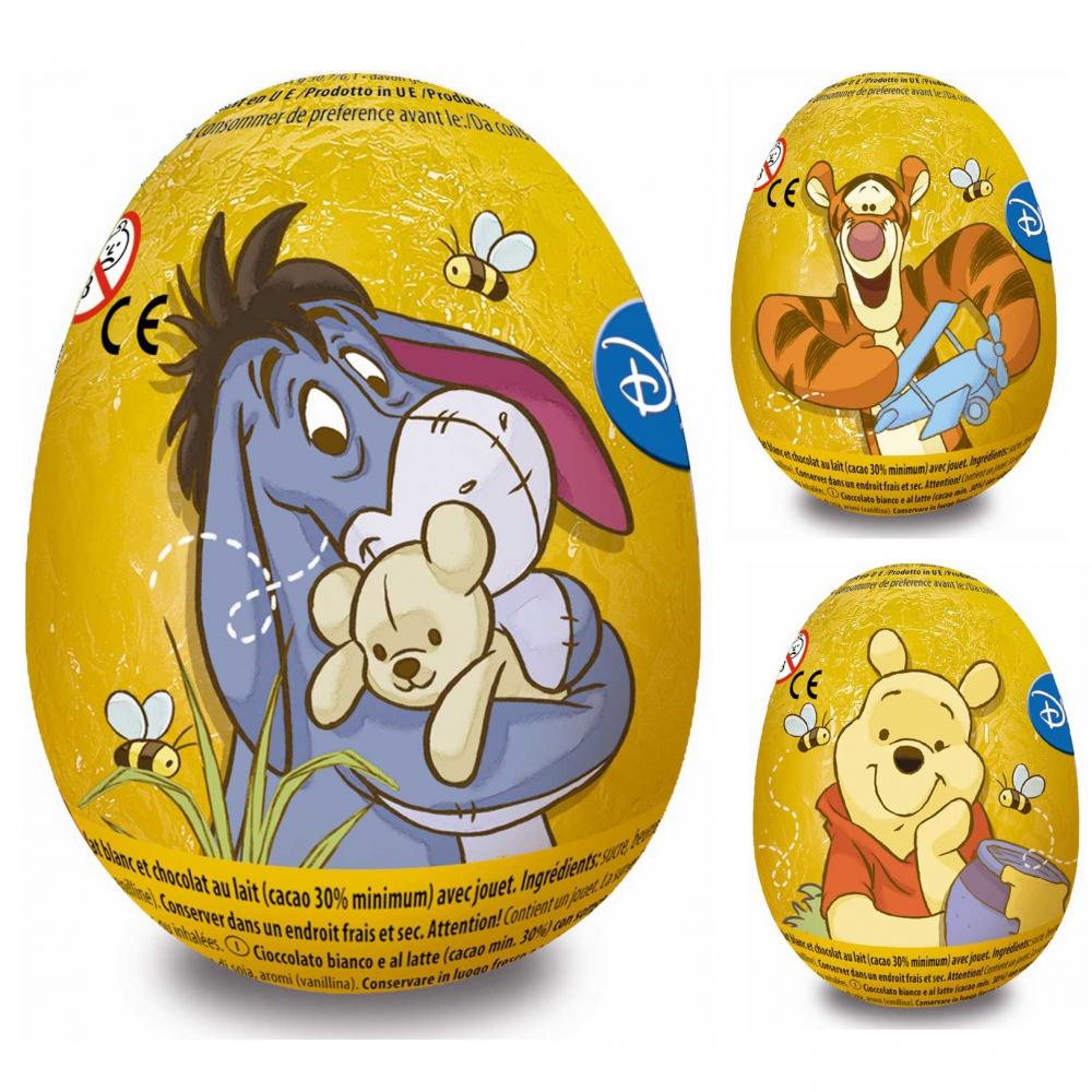Disney Winnie the Pooh Chocolate Egg