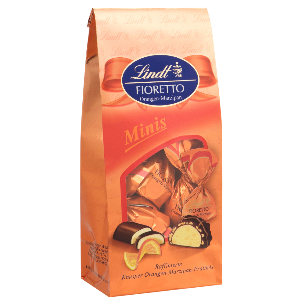 Lindt Fioretto Minis Orangen-Marzipan