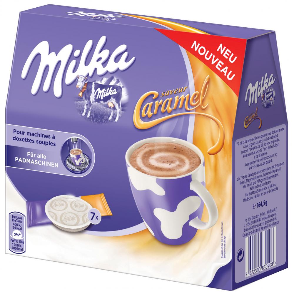 Milka Pads Caramel