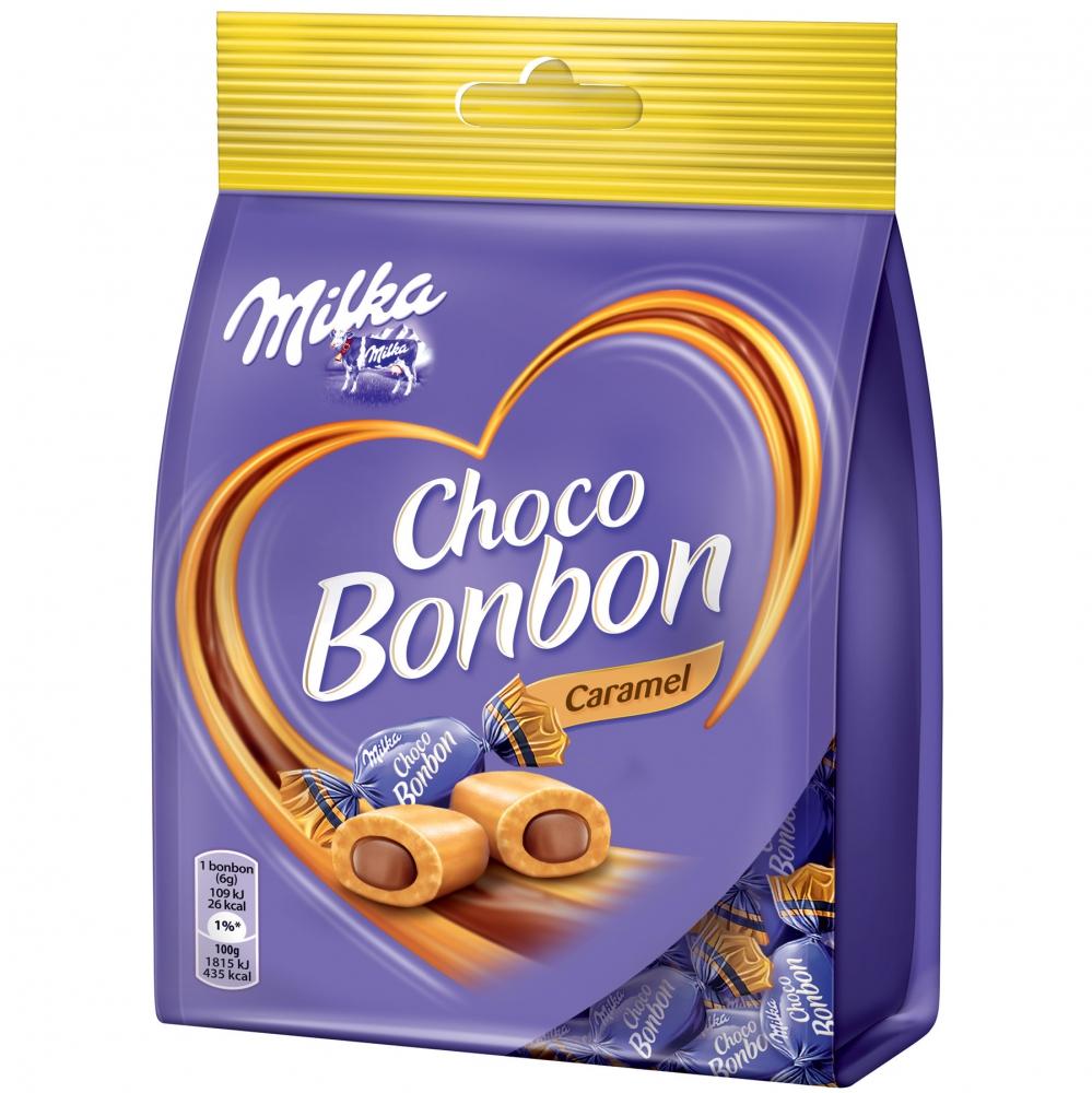 Milka Choco Bonbon Caramel