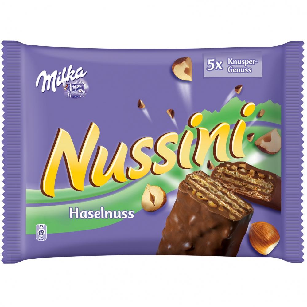 Milka Nussini Haselnuss Multipack 5er