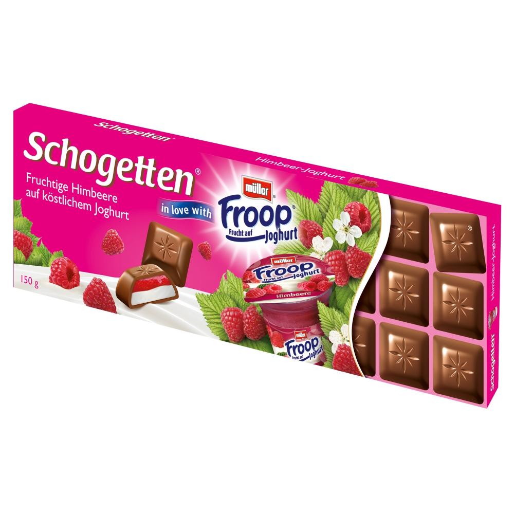 Schogetten in Love with Froop Himbeer-Joghurt