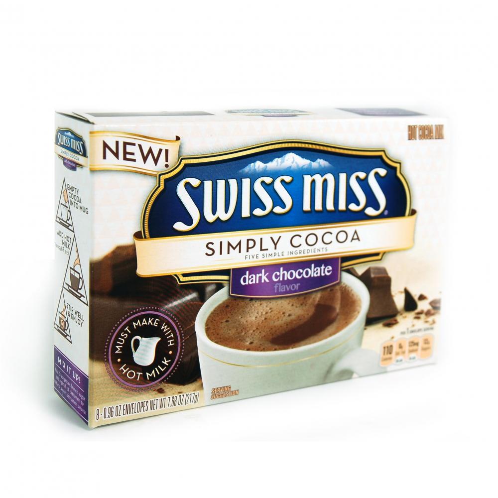 Swiss Miss Simply Cocoa Dark Chocolate