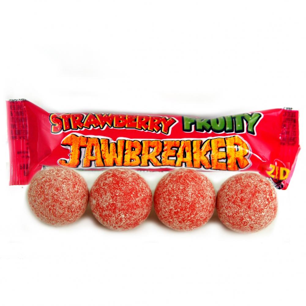 ZED Candy Strawberry Fruity Jawbreaker