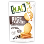 Nature Addicts Rice Crackers Black Pepper 70g