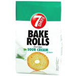 7Days Bake Rolls Sour Cream & Onion 250g