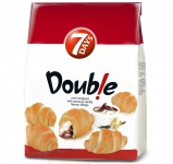 7Days Double Mini Croissant Cocoa & Vanilla 185g