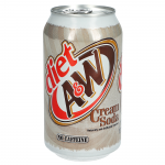 A&W Diet Cream Soda USA 355ml