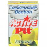 Active Pit Traubenzucker Bonbon Zitrone 35g