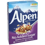 Alpen No Added Sugar Blueberry, Cherry & Almond