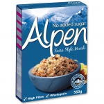 "Alpen ""Swiss Style Muesli"" No Added Sugar"