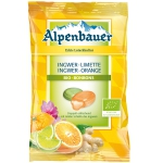 Alpenbauer Ingwer-Limette Ingwer-Orange Bio-Bonbons