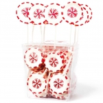 "Amore Sweets Rock X-Mas Lolly ""Schneeflocke"" 25×26g"