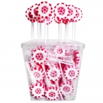 "Amore Sweets Rock X-Mas Lolly ""Schneeflocke"" 100x10g"