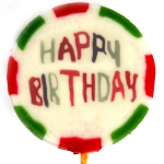 "Amore Sweets Rock LoveLolly ""Happy Birthday"" 12x26g"