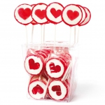 Amore Sweets Rocks LoveLolly Herz rot 25×26g