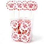 "Amore Sweets Rock LoveLolly ""I Love You"" 25×26g"