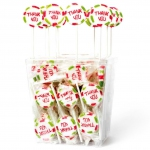 Amore Sweets Rocks Love Lolly Thank You 100×10g
