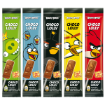 Angry Birds Choco-Lolly 5er Multipack