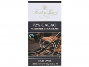 Anthon Berg Fairtrade Chocolate 72% Cacao