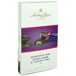 Anthon Berg Marzipan Extra Dark & Cocoa Nibs Riegel 7er