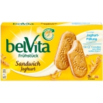 belVita Frühstückskeks Sandwich Joghurt 5x2er