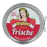 Berliner Frische Himbeer Bonbons mit Menthol