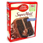 Betty Crocker Super Moist Cake Mix Chocolate Fudge 432g