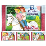 Bibi und Tina Knabber Esspapier