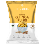 Heimatgut Erdnuss Quinoa Flips 115g