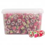 Blåvand Bolcher Erdbeere Rox Bonbons 2kg Dose