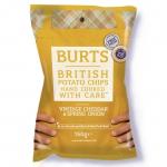 Burts Potato Chips Cheddar-Käse & Frühlingszwiebel 150g