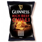 Guinness Hand Cooked Potato Chips Rich Beef Chilli
