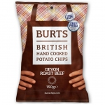 Burts Potato Chips Devon Roast Beef 150g