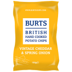 Burts Potato Chips Mature Cheddar & Spring Onion 150g