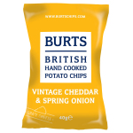 Burts Potato Chips Vintage Cheddar & Spring Onion 40g