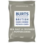 Burts Potato Chips Sea Salt & Crushed Peppercorns 150g