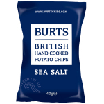 Burts Potato Chips Sea Salt 40g
