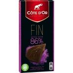 Côte d'Or 86% Noir Brut