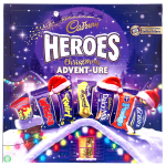 Cadbury Heroes Christmas Advent-Ure Adventskalender