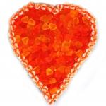 Canderia Riesen-Fruchtgummi-Herz Orange