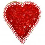 Canderia Riesen-Fruchtgummi-Herz Rot