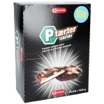 Carletti P-tærter lakrids 625g