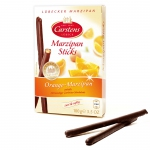 Carstens Lübecker Marzipan Sticks Orange-Marzipan 100g
