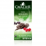 Cavalier Stevia Dark Berries 85% Cocoa