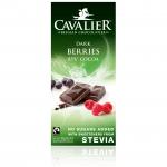 Cavalier Stevia Dark 85% Cocoa Berries 85g