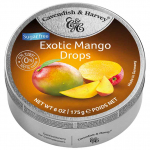 Cavendish & Harvey Exotic Mango Drops sugarfree 175g