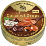 Cavendish & Harvey Filled Caramel Drops with Arabica Coffee 130g